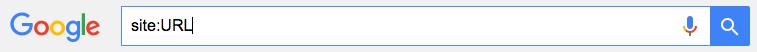 Allgemeines Beispiel für eine Google Site-Abfrage