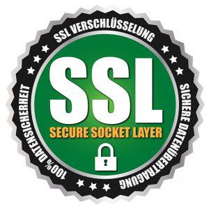 SSL Verschlüsselung - Sichere Datenübertragung - 100% Datensicherheit