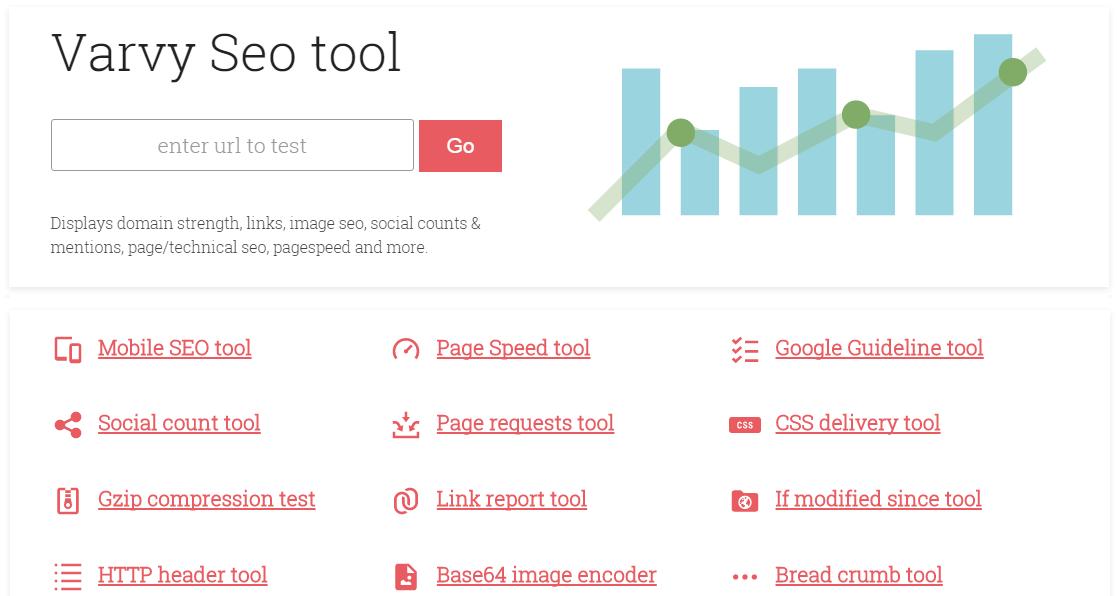 Varvy SEO-Tool Screenshot